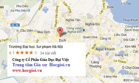 Gia sư khu vực quận Hoàn Kiếm - Hà nội
